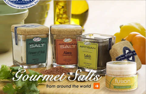 Gourmet Salts from around the world